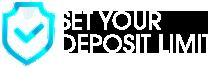 Set Your Deposit Limit Logo